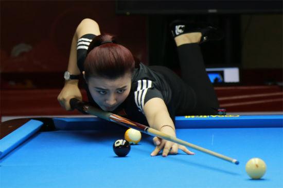 台球团体赛中国两队全胜晋级在望 奥地利逼平英国